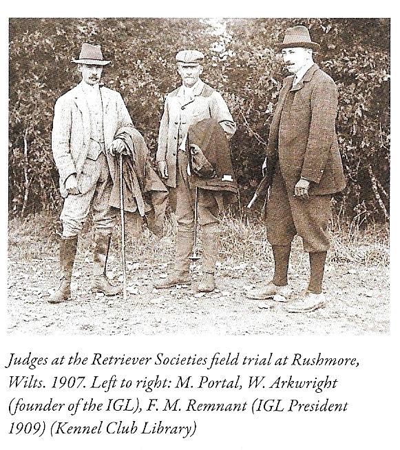 nternationalität für die Besten der Besten? Richter des Field Trials 1907