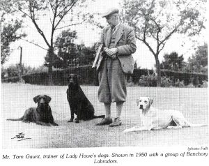 Leistung als Zuchtkriterium Tom Gaunt, Trainer of Lady Howes Dogs Quelle: LRC. ACelebrations of 75 Years. S.30