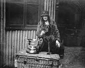 Crufts Dog Shoe Lorna, Countess Howe mit Dual CH Bramshaw Bob.