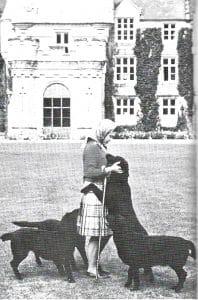 Royal Labradors Queen Elizabeth II mit einigen ihrer Labradors